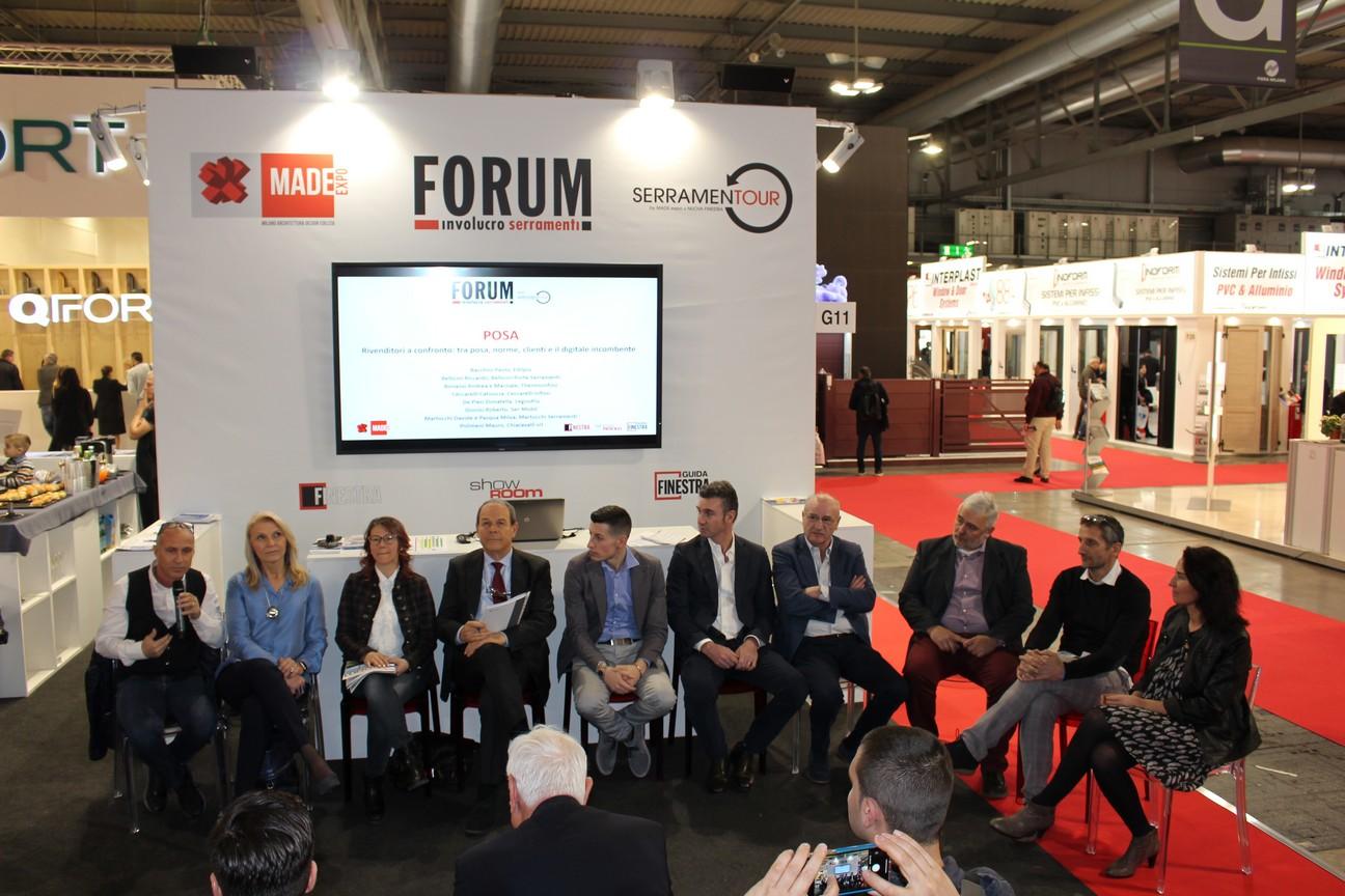 Made Expo 2019_Forum Involucro Serramenti_Milano