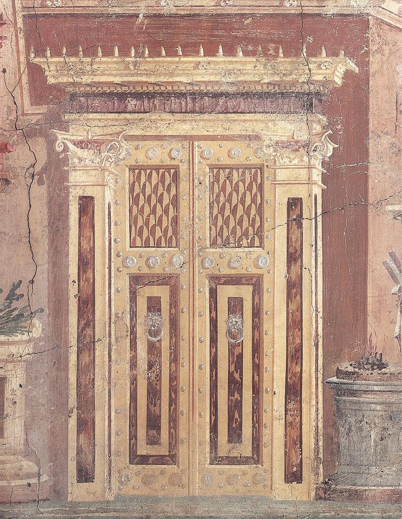 Porta romana Villa Boscoreale