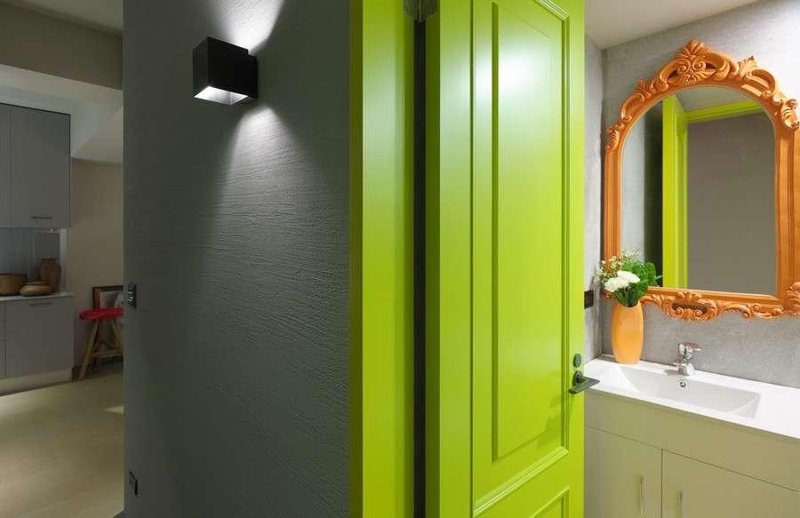 Porte Colorate_Verde Mela